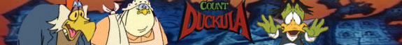 Count Duckula Logo